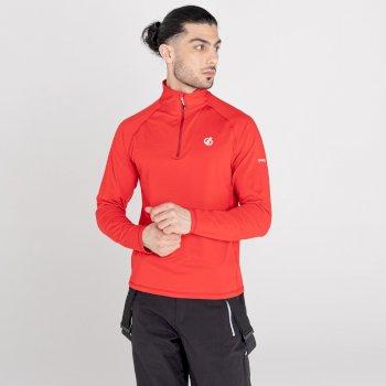 Męska bluza termoaktywna Dare2B Fuse Up II czerwona