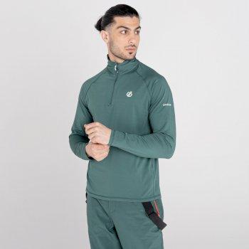 Męska bluza termoaktywna Dare2B Fuse Up II zielona