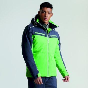 Men s Mutate Pro Ski Jacket Fairway Green Ebony Grey 83e6a901d