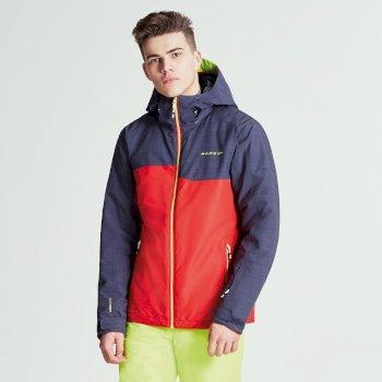 Męska kurtka narciarska Dare2b Declarate Czerwono-szara