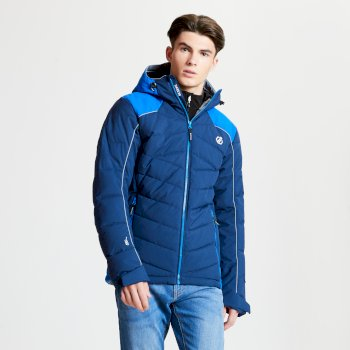 Dare 2b - Men's Maxim Quilted Ski Jacket Admiral Oxford Blue