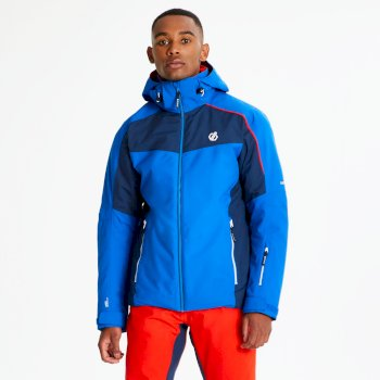 Dare 2b - Men's Intermit Ski Jacket Oxford Admiral Blue White