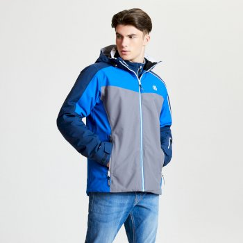 Dare 2b - Men's Intermit Ski Jacket Admiral Blue Aluminium Grey