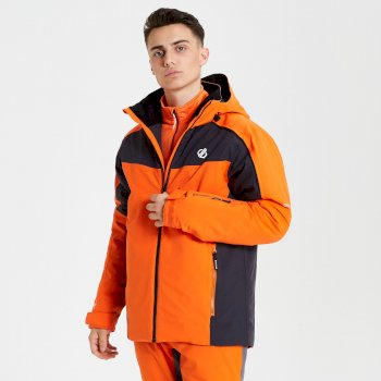 Dare 2b - Men's Intermit Ski Jacket Clementine Ebony