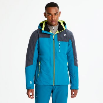 Dare 2b - Men's No Limits Ski Jacket Ocean Depths Ebony