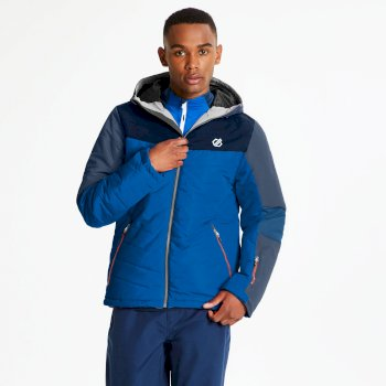 Dare 2b - Men's Domain Quilted Ski Jacket Admiral Oxford Blue