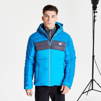 Męska kurtka narciarska Dare2B Denote niebieska