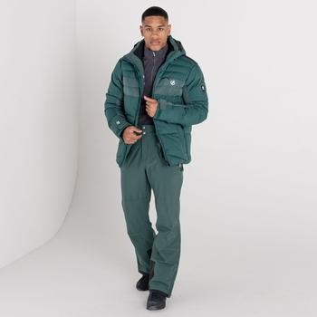 Męska kurtka narciarska Dare2B Denote zielona