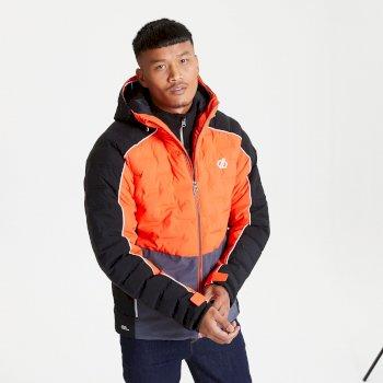 Męska kurtka narciarska Dare2B Expounder pomarańczowa