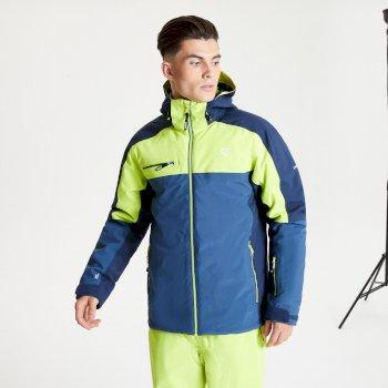 Męska kurtka narciarska Dare2B Intermit II limonkowa