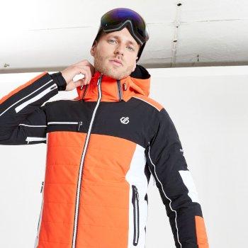 Męska kurtka narciarska Dare2B Out Force pomarańczowa