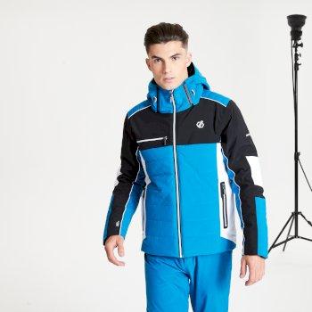 Męska kurtka narciarska Dare2B Out Force niebieska