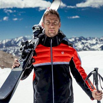 Męska kurtka narciarska Dare2B Speed Out pomarańczowa