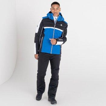 Męska kurtka narciarska Dare2B Speed Out niebieska-czarna