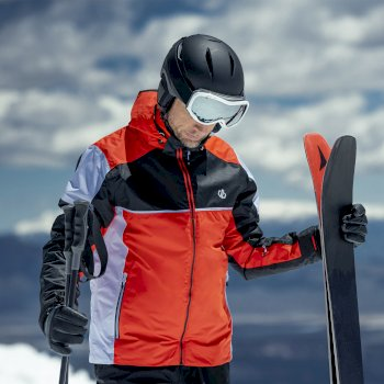 Męska kurtka narciarska Dare2B Incarnate pomarańczowa