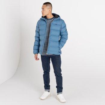 Men's Switch Up Waterproof Puffer Jacket Stellar Blue