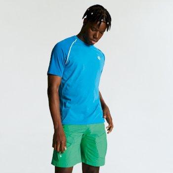 Men's Institute Wool T-Shirt Atlantic Petrol Blue