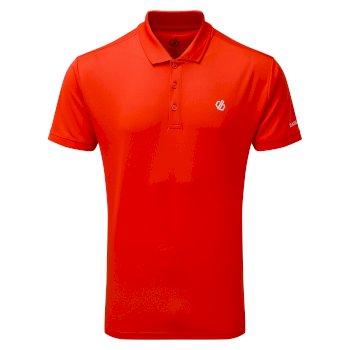 Męska koszulka polo Delineate Dare2B czerwona