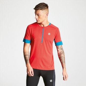 Men's Equall Cycle Jersey Fiery Red