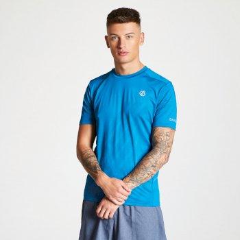 Men's Enjoin Sweat Wicking T-Shirt Petrol Blue