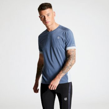 Men's Unifier Lightweight Ventilated T-Shirt Meteor Gravity Grey