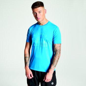 Niebieski t-shirt męski Dare2b Righteous