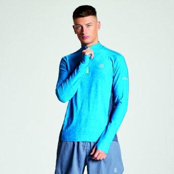 Men's Reacticate Half Zip Active Jersey Atlantic Blue