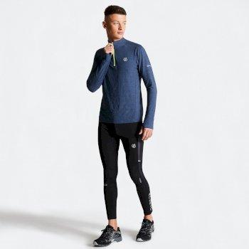 Men's Reacticate Half Zip Active Jersey Meteor Grey