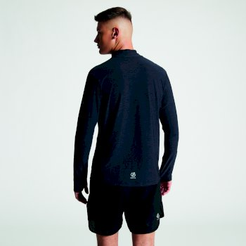 Men's Reacticate Half Zip Active Jersey Black