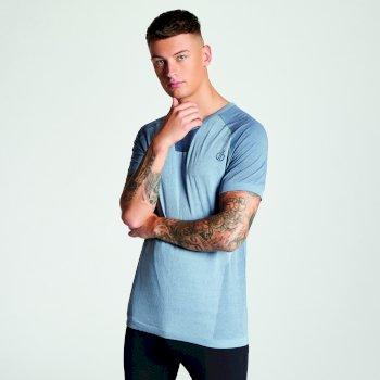 Men's Vessel Seamless T-Shirt Gravity Grey