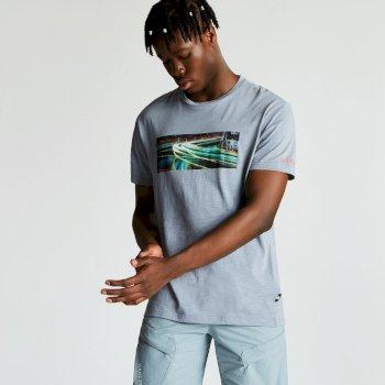 Men's Converge Graphic Print T-Shirt Gravity Grey
