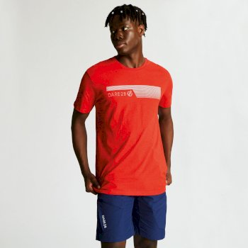 Men's Galvanize Graphic T-Shirt Fiery Red