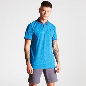 Dare 2b - Men's Deference Polo Shirt Petrol Blue
