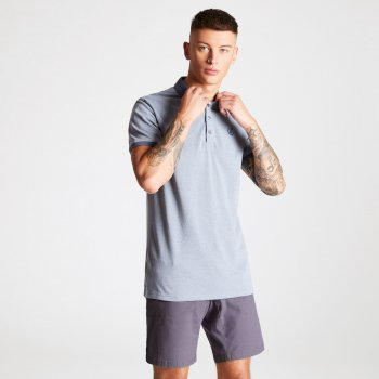 Dare 2b - Men's Deference Polo Shirt Gravity Grey