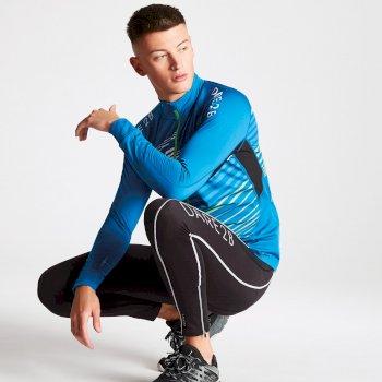 Men's AEP Expatiate Full Zip Multi Pocket Jersey Petrol Blue