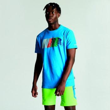 Men's Dynamism Graphic T-Shirt Atlantic Blue