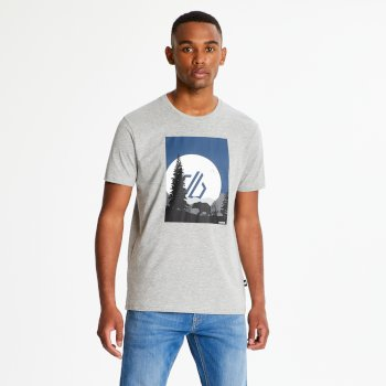 Męski t-shirt Dare2B Strife szary