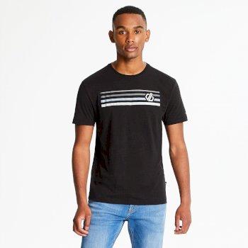 Men's Strife Graphic Print T-Shirt Black