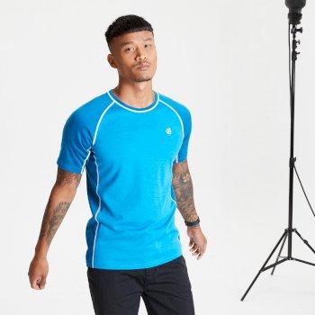 Męska koszulka Dare2B Conflux niebieska