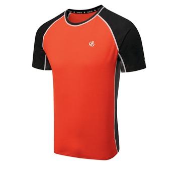 Męska koszulka Dare2B Conflux pomarańczowa