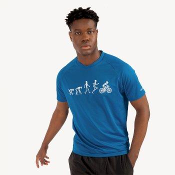 Męski t-shirt Righteous II Dare2B granatowy