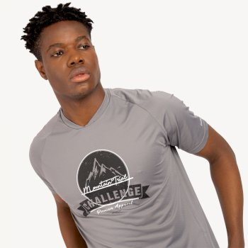 Męski T-shirt Dare2B Righteous szary