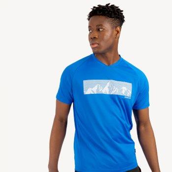 Męski T-shirt Dare2B Righteous ciemoniebieski