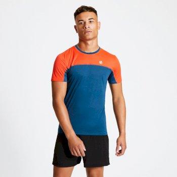 Męska koszulka Dare2B Notable pomarańczowa
