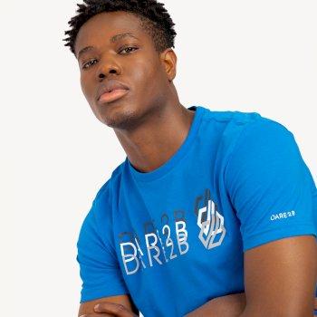 Dare 2b - Men's Focalize Dare2b Print T-Shirt Athletic Blue