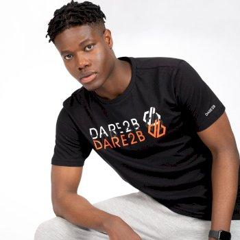Dare 2b - Men's Focalize Dare2b Print T-Shirt Black