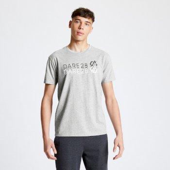 Męski t-shirt Dare2B Focalize szary