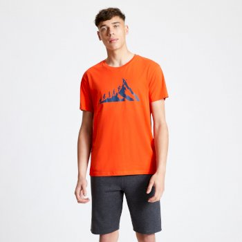 Dare 2b - Men's Integrate Graphic T-Shirt Trail Blaze Red