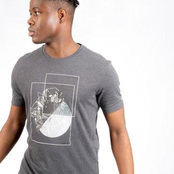 Męski t-shirt Dare2B Stringent popielaty