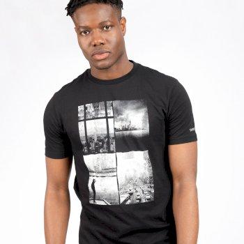Męska koszulka Stringent Dare2B czarna